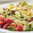 Healthy Power Salad Recipes Slideshow - Make a satisfying dinner with our healthy power salad recipes.These salads have more than just veggies, they're a full meal. You'll get healthy protein from chicken, shrimp, tofu and beans to help keep you feeling full and satisfied. Plus fruit, starchy vegetables or whole grains to round out your salad.