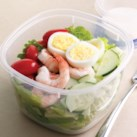 Healthy Lunch Salad Ideas for Work Slideshow - Make a filling and healthy salad that will power you through any work day. Full of protein and fiber these quick salads are an easy way to spruce up your lunch.