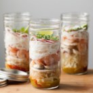 Incredible Recipes You Can Make in a Mason Jar Slideshow - We love mason jars, because they are multi-purpose and can be used for so many different things, are easy to clean and great to re-use. Shake up a healthy salad dressing, bring a jar of homemade cup of noodles to work, make your morning oatmeal in a jar the night before or even use your jars as a pretty serving vessel for chocolate mousse. Here are our some of our favorite ideas for recipes in a mason jar.