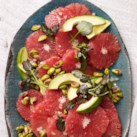 Red Grapefruit Salad with Avocado & Pistachios