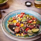 Corn & Black Bean Quinoa Salad