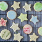 Eye-Catching Holiday Cookies Slideshow - Start a new tradition this year and make naturally decorated cookies that are better, healthier and more beautiful than ever! These naturally delicious Christmas cookies are sure to impress at any cookie-swap gathering or holiday celebration.