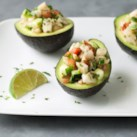 Ceviche-Stuffed Avocados