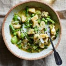 Ricotta Gnocchi with Spring Vegetables