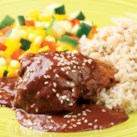 Chicken with Quick Mole Sauce