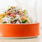 Rice Noodle & Edamame Salad