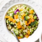 Broccoli, Edamame & Cabbage Millet Salad