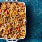 Chicken, Peppers & Pasta Casserole