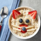 Kitty-Cat Oatmeal Bowl