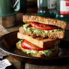 Campfire Caprese Grilled Cheese