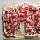 Strawberry-Chocolate Greek Yogurt Bark
