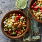 Green Goddess Salad with Chickpeas