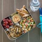 Mediterranean Bento Lunch