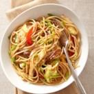 Chile-Lime Veggie Noodles