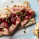 Ham & Jam Crispbreads