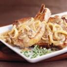 Mushroom-Sauced Pork Chops
