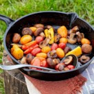 Pan-Roasted Campfire Veggies