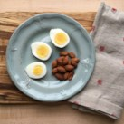 Hard-Boiled Egg & Almonds