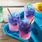 Color-Changing Lemonade Slushies
