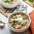 Slow-Cooker Pasta e Fagioli Soup Freezer Pack