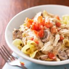 Mushroom and Chicken Stroganoff