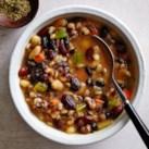 Slow-Cooker Southwestern Bean Soup