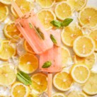 Fresh-Squeezed Pink Lemonade Ice Pops