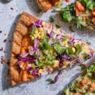 Thai Peanut & Herb Grilled Pizza