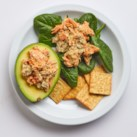 Salmon Salad-Stuffed Avocado