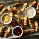 Bacon-Wrapped Zucchini Fries