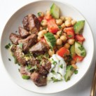 Lamb and Chickpea Bowls