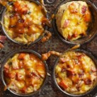 Apple, Bacon and Sweet Potato Mini Casseroles