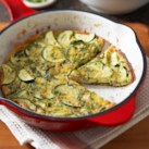 Cheddar and Zucchini Frittata