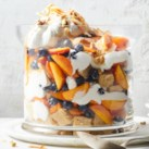 Peach-Blueberry-Coconut Trifle