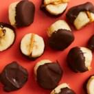 Vegan Chocolate-Dipped Frozen Banana Bites