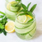Cucumber-Mint Spritzer