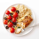 Mediterranean Cod with Roasted Tomatoes