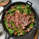 Skillet Steak with Mushroom Sauce