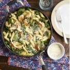 Chicken & Spinach Skillet Pasta with Lemon & Parmesan