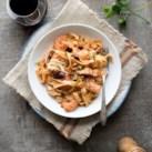 Quick Shrimp Puttanesca