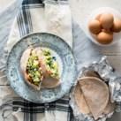 Spanakopita Scrambled Egg Pitas