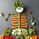 Halloween Veggie Tray