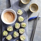 Cucumber-Avocado Cauliflower Rice Sushi