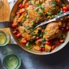 Sicilian-Style Chicken Thighs