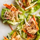 Sichuan Chicken Lettuce Wraps