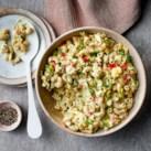 Deviled-Egg Macaroni Salad