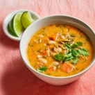 Curried Sweet Potato & Peanut Soup