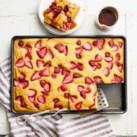 Strawberry Sheet-Pan Pancakes