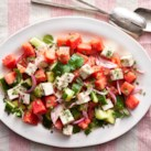 Watermelon, Cucumber & Feta Salad