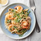 Creamy Lemon Pasta with Shrimp